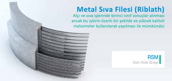 Metal Sıva Filesi (Riblath)